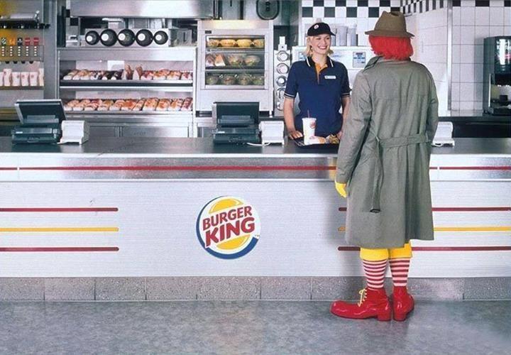 MC Donalds x Burger King