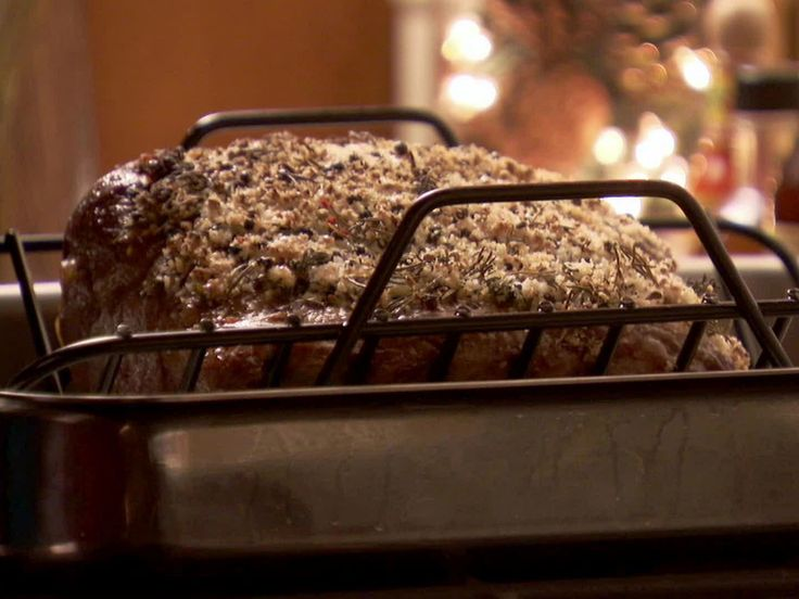PW's Prime Rib with Rosemary Salt Crust recipe from Ree Drummond via Food Network