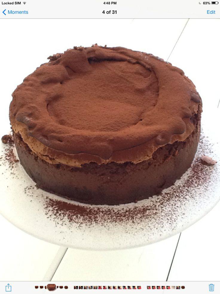 Chocolate cheese cake http://www.instyle.gr/recipe/cheesecake-sokolatas/