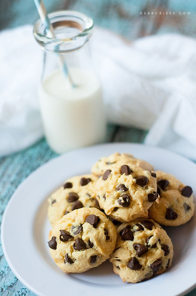 Chocolate Chip Cake Mix Cookies - SOFT, chewy and simply delicious!