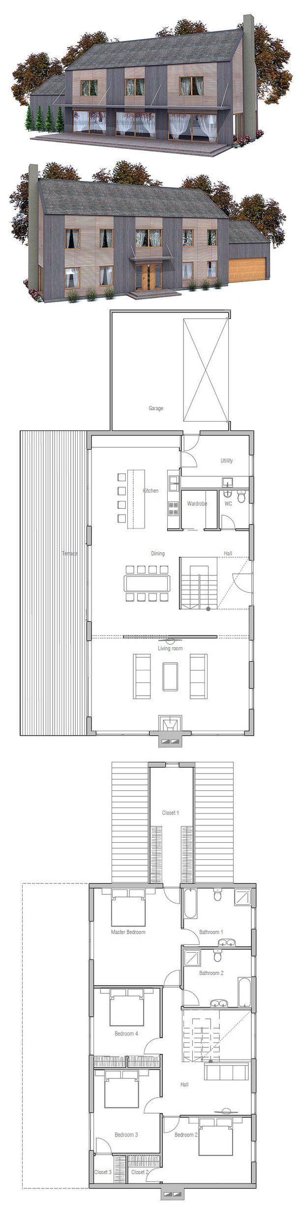 die besten 17 ideen zu reihenhaus grundriss auf pinterest bauplan haus wohnheim anordnung und. Black Bedroom Furniture Sets. Home Design Ideas