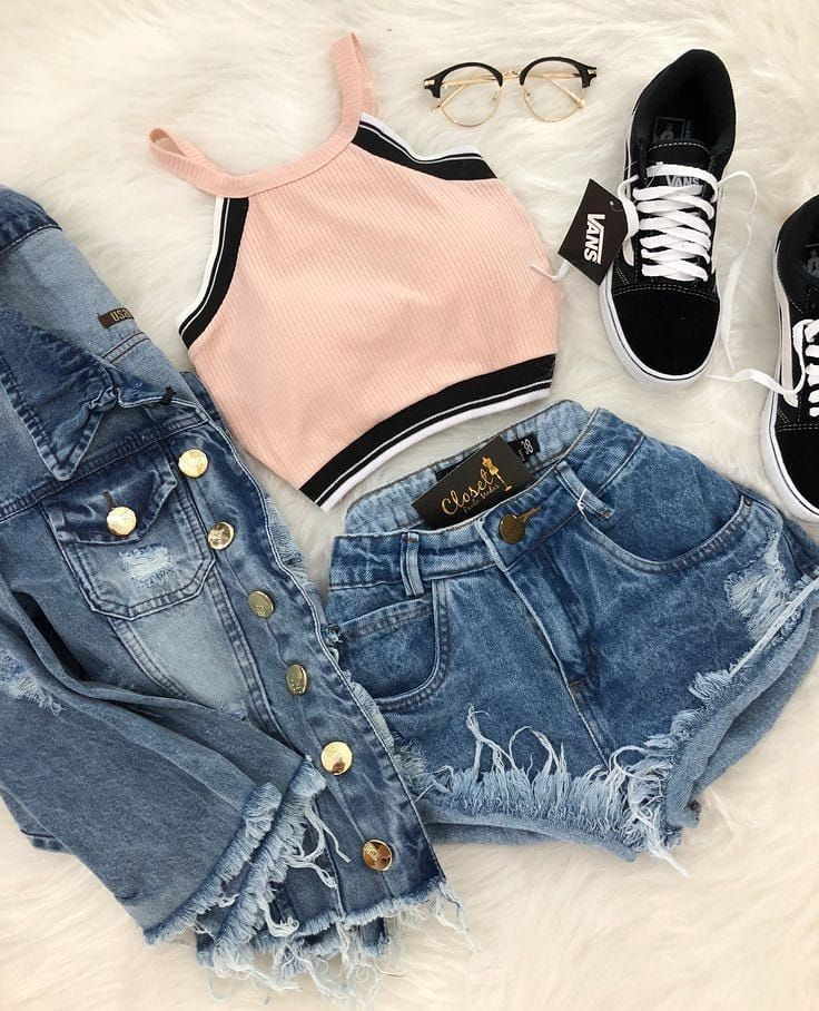 23 Awesome Sommer Outfits Mit Vans Schuhe | Sommer kleidung