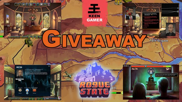I've entered a giveaway to win #RogueStateGame Wish me luck! :-)