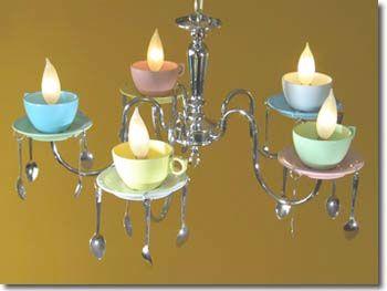 Tea party lighting anyone?