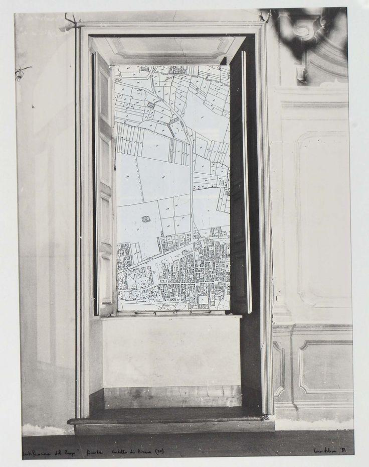 IDENTIFICAZIONE DEL LUOGO FINESTRA CASTELLO DI RIVARA - Luca Vittone, 1989