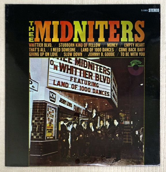 Rare #garagerock album from Los Angeles based Chicano band Thee Midniters