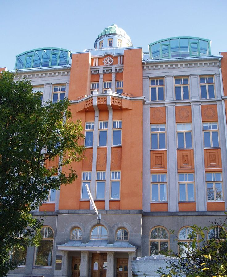 Jugend house in Vaasa, Finland