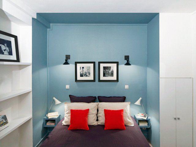 Un coin sommeil dans une alcôve - Marie Claire Maison
