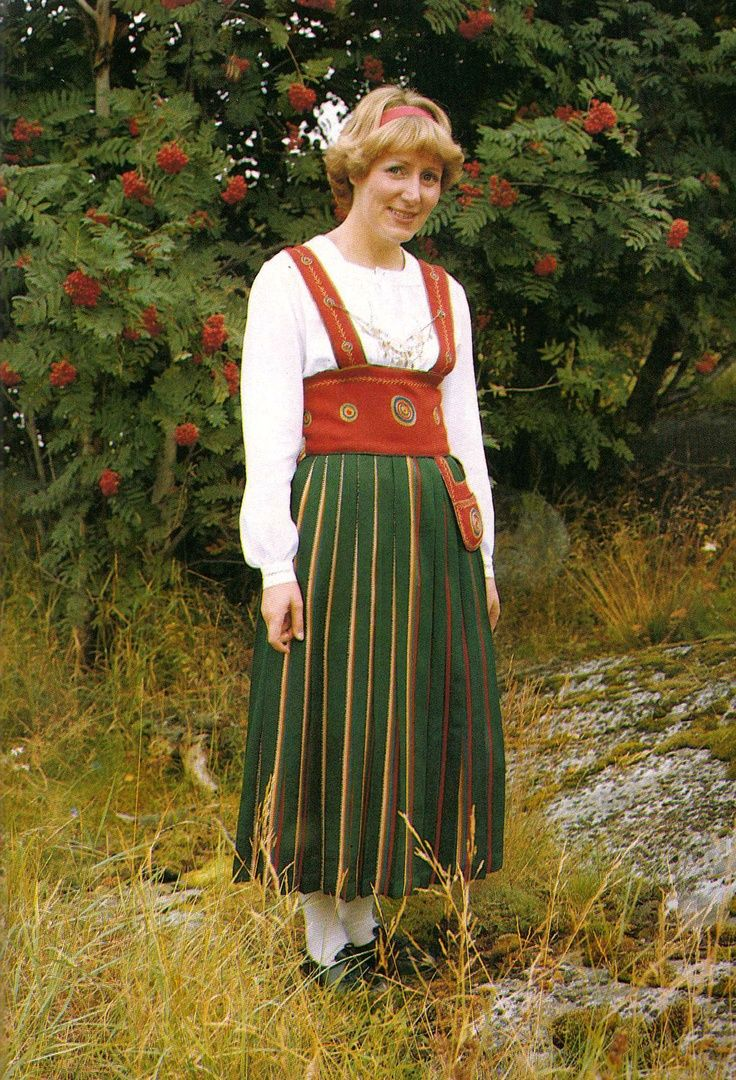 This is a Costume from Finland Orimattila