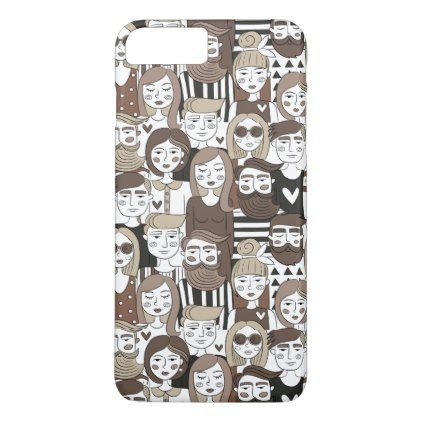 Hipster Pattern phone cases - patterns pattern special unique design gift idea diy