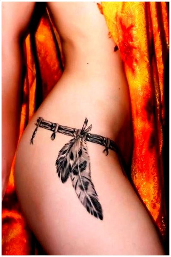 40 Most Popular Feather Tattoos for Women and Men