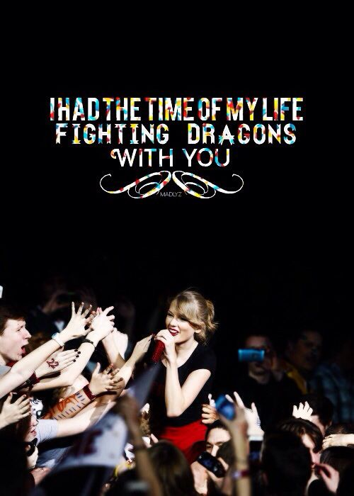 This is my all time favorite lyric.  Long Live! ♡
