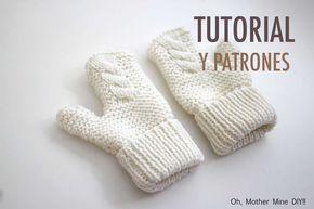 DIY Cómo hacer guantes para niños (patrones gratis)