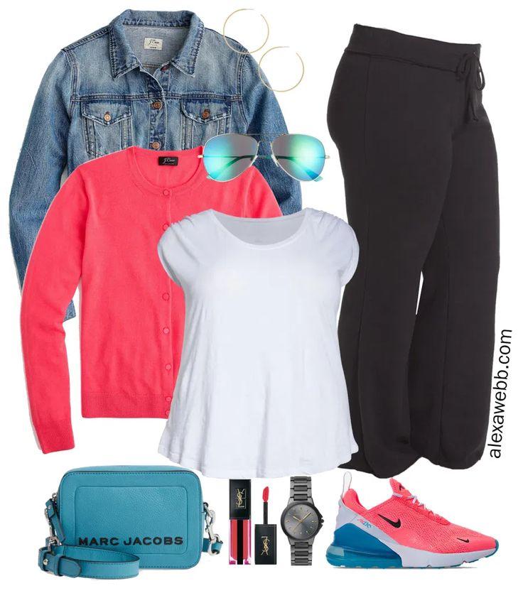 Plus Size Neon Athleisure - Alexa Webb Nike Outfits, Athleisure Outfits, Summer Outfits, Casual Outfits, Fashion Outfits, Fashion Styles, Style Fashion, Fashion Ideas, Fashion Trends