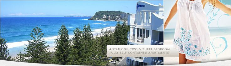 Burleigh heads is positioned on the Esplanade of the Gold Coast's North Burleigh.  That present best-quality accommodation you could ever have and it helps you to enjoy your holiday without any stress. The resort is well designed so that all apartments can enjoy the views of Burleigh Beach.