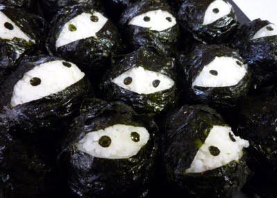 ninja rice balls