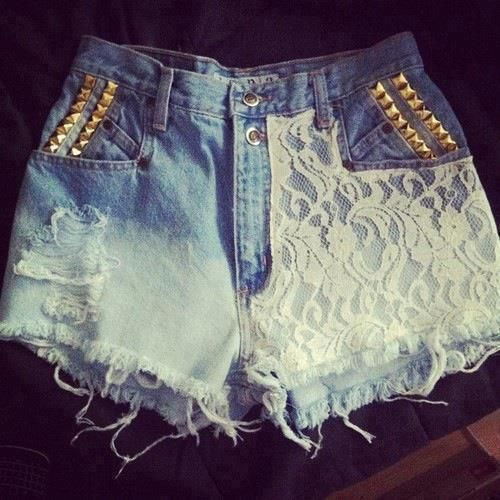 Lace and Studs