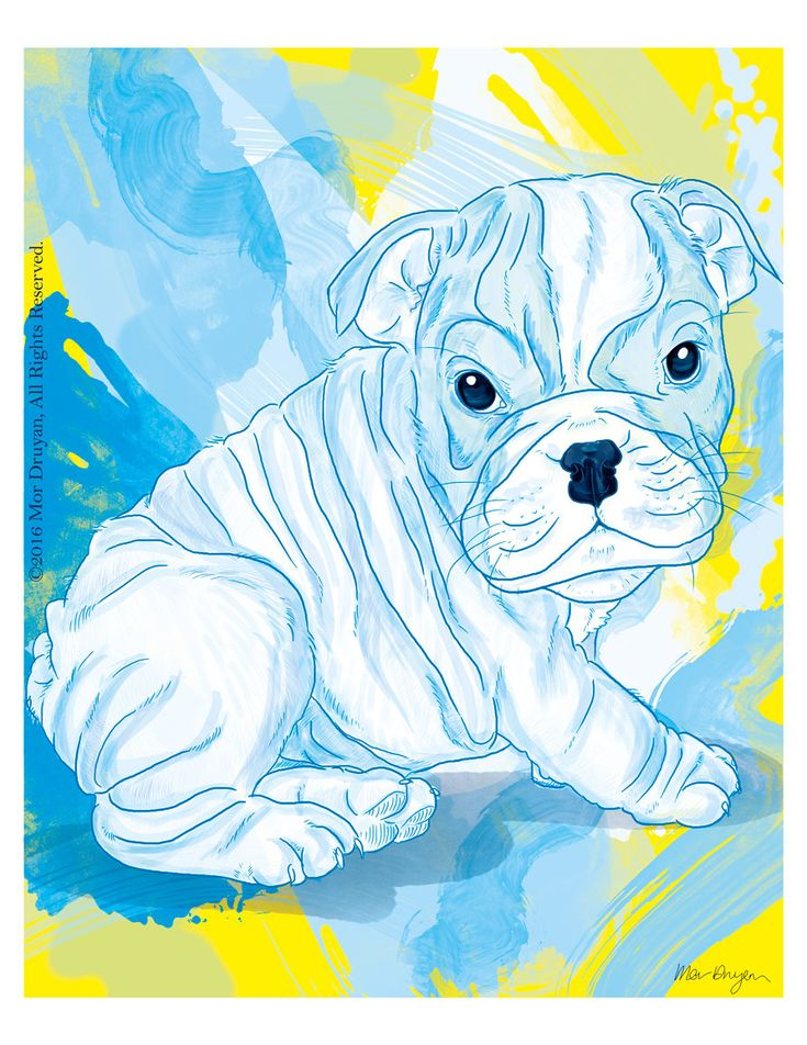 Don't you just love cute chubby puppies? 🤗 Visit my #etsy shop to see my English Bulldog Puppy Art Print Of Original Painting-8x10. #EnglishBulldogArt #NurseryDecor #PetPortrait #BulldogGifts #BulldogPrint #Dogdrawing #Nurserydecor #Walldecor #Cuteprint #Colorful #Gicleeprint #art #artprint http://etsy.me/2Fikfqa