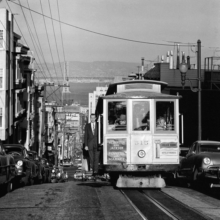 Amazing Mid century Photographs of San Francisco - Love being born and raised in the Bay Area