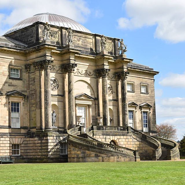 Fantastic day exploring the stunning Neo-classical mansion of Kedleston Hall. Think it looks familiar? You're probably right! Kedleston was last seen in 'The Duchess' with Kiera Knightley. Located in Derbyshire, this beauty is virtually on our doorstep and less than 2 hours from London so no excuses! If you want to take a sneak peak inside head over to www.whatstacydid.com now