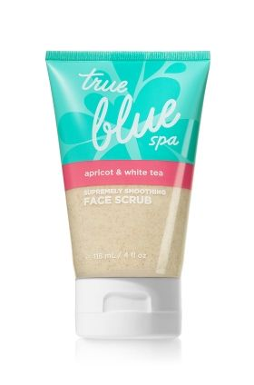Supremely Smoothing Face Scrub with Apricot & White Tea - True Blue® Spa - Bath & Body Works