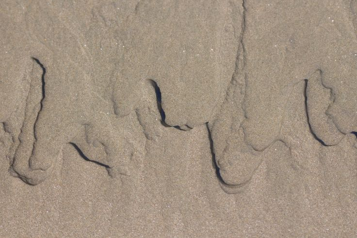 Natural patterns in the sand #Nature #Waimarama