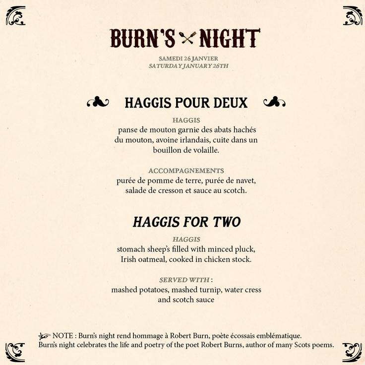Happy Burn's Night