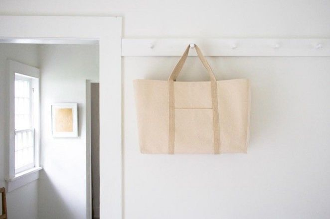 Probably can't make this until I get a sturdier machine // Big Boat Tote | The Purl Bee