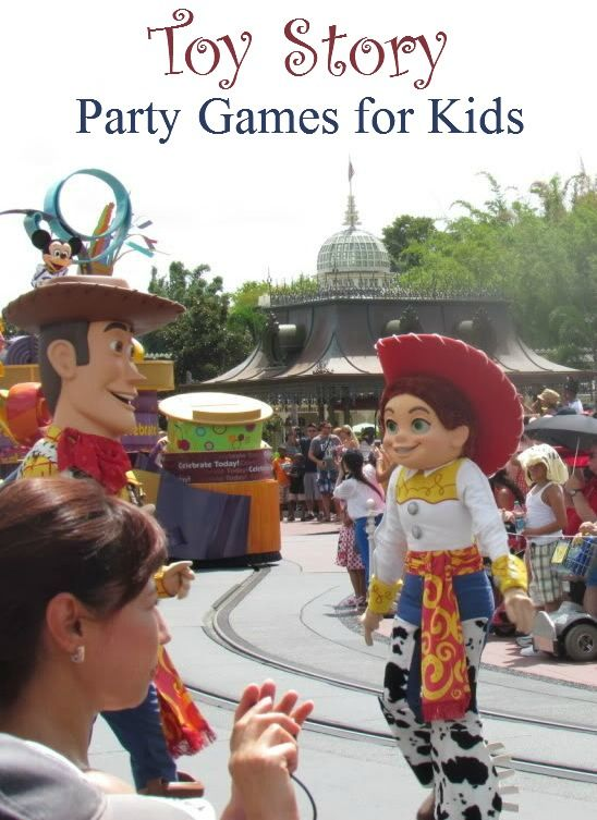 Toy Story party games for kids at MyKidsGuide.com