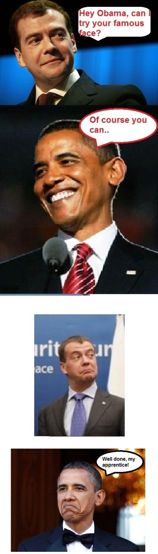 Obama - Not Bad - More Fun Here: http://funny-pictures-blog.com/?p=32532