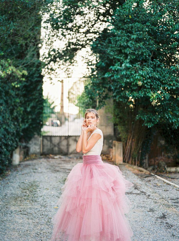 Photography: Mireia Cordomí - www.mireiacordomi.com  Read More: http://www.stylemepretty.com/destination-weddings/2014/12/11/romantic-pink-navidad-wedding-inspiration/