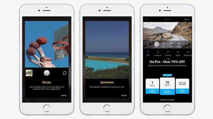Facetune fabricante lanza Quickshot cámara con auto ajustes, de la edición por lotes, más
