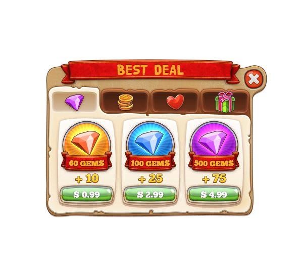 Dingdong: Game UI Pack on Behance