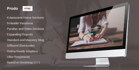 Prodo – is a modern and elegant Onepage Theme, perfect for corporate, suitable for any type of business, built for any needs. Every single detail is carefully designed and crafted, in order to crea...