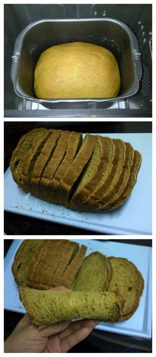 Maxim Matcha Milk Bread With 5C
