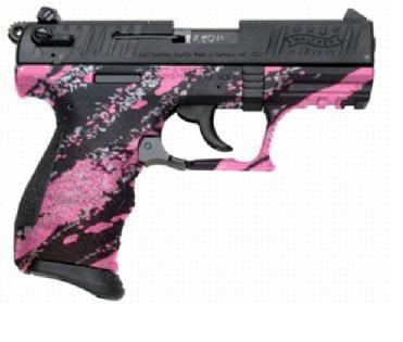 Walther P22Q in Pink Platinum... LOVE