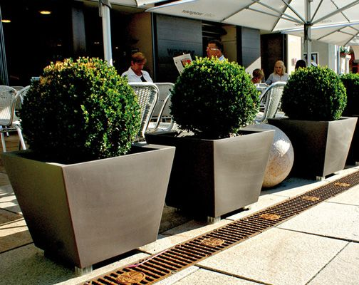 Kabin Outdoor Planters Pot by Serralunga. A