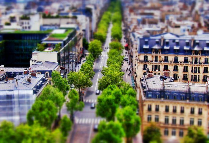 Tilt Shift Paris Series - Avenue Kléber