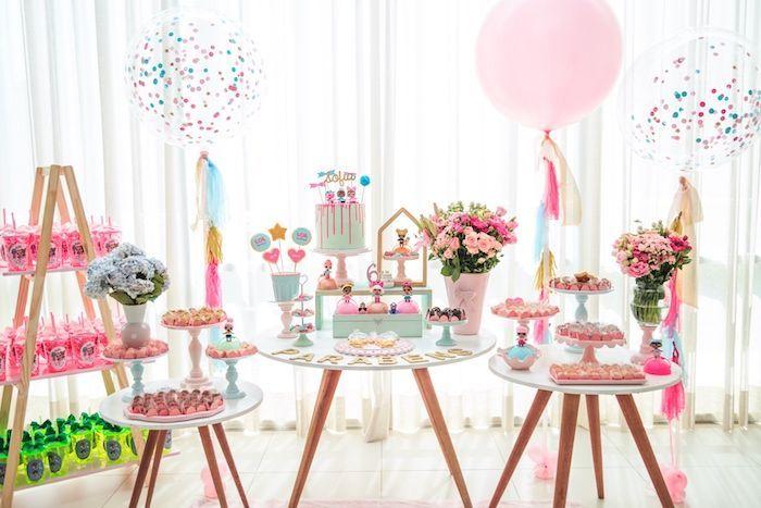 einfache Einrichtung   – LOL Surprise Doll Party-7th bday – #Bday #Doll #Einfach… – LoL Dolls