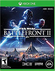Star Wars Battlefront II - Xbox One  Embark on an endless Star Wars action experience from the bestselling Star Wars HD videogame franchise of all time.  Rush through waves of enemies on Starkiller Base with the power of your lightsaber in your hands. Storm through the jungle canopy of a hidden Rebel base on Yavin 4 with your fellow troopers, dispensing firepower from AT-STs. Line up your X-wing squadron for an attack on a mammoth First Order Star Destroyer in space. Or rise as a new Star…