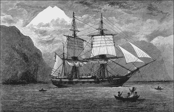 2. El viaje del Beagle duró casi cinco años, zarpando de la bahía de Plymouth el 27 de diciembre de 1831 y arribando a Falmouth el 2 de octubre de 1836. Tal como Fitzroy le había propuesto, el joven Darwin dedicó la mayor parte de su tiempo a investigaciones geológicas en tierra firme y a recopilar ejemplares, mientras el Beagle realizaba su misión científica para medir corrientes oceánicas y cartografiando la costa.
