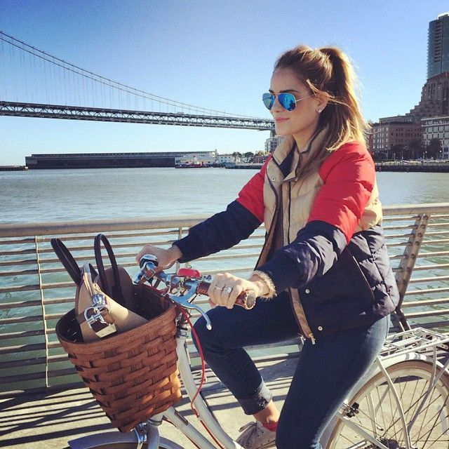 Embarcadero Sunday bike rides are my favorite #backhome #sf #sundays #bikeride #lazyday
