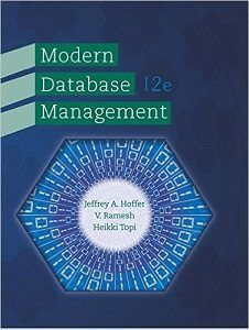 Modern Database Management 12th Edition Solutions Manual Test Bank