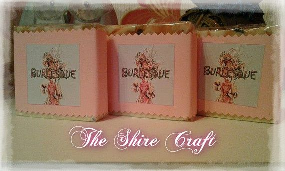 Burlesque  Natural Handcrafted Soap by TheShireCraft on Etsy