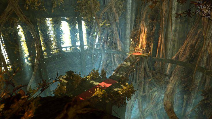 Overgrown Throne Room | Portfolio of Max Plooi | Just another WordPress site
