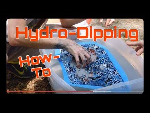 How To Do Hydro-Dipping At Home (Start to Finish Guide)