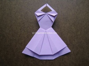 Origami Trapeze Dress