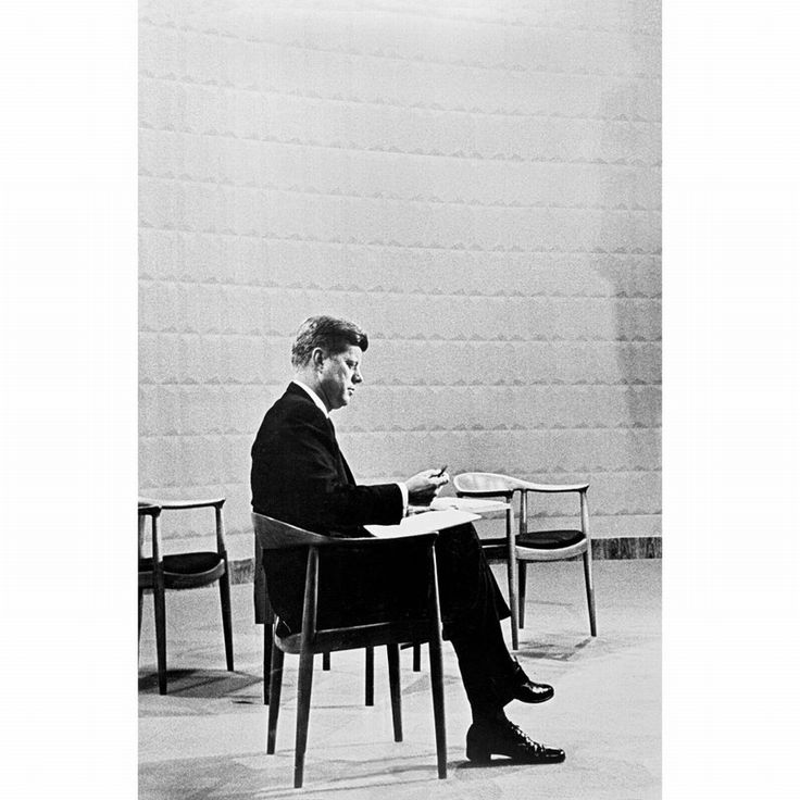 John F Kennedy on Wegner The Chair