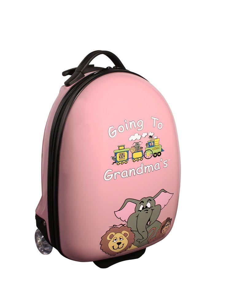 Going to Grandma's Animals Children's Luggage