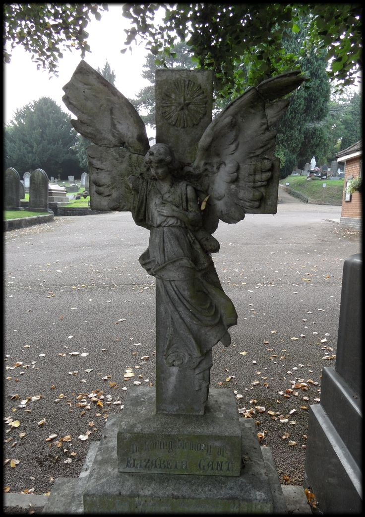 Angel cemetery art!